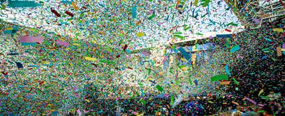 Confetti at Groots Junior